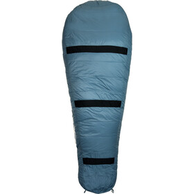 Grüezi-Bag Biopod Down Hybrid Ice Cold 180 Sleeping Bag platin grey